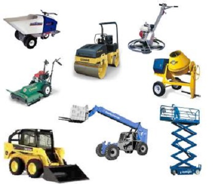 INDUSTRIAL EQUIPMENT ON A LEASE