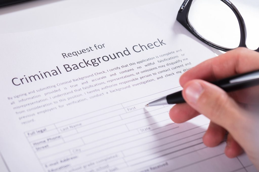 More info about background check